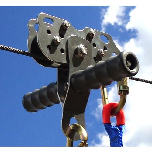 Cobra Zip Line Trolley Zip Line Pulley