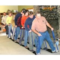 Trolleys Portable Low Ropes Teambuilding Trolleys